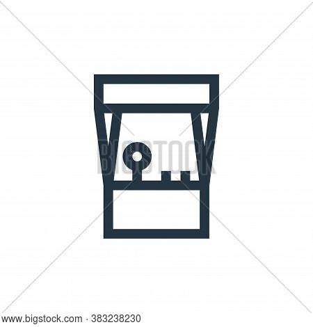 arcade machine icon isolated on white background from esports collection. arcade machine icon trendy