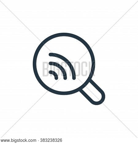 search icon isolated on white background from spring collection. search icon trendy and modern searc