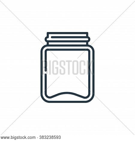 jar icon isolated on white background from education collection. jar icon trendy and modern jar symb
