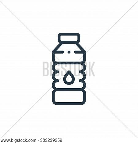 water bottle icon isolated on white background from american football collection. water bottle icon