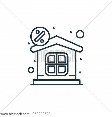 property icon isolated on white background from taxes collection. property icon trendy and modern pr