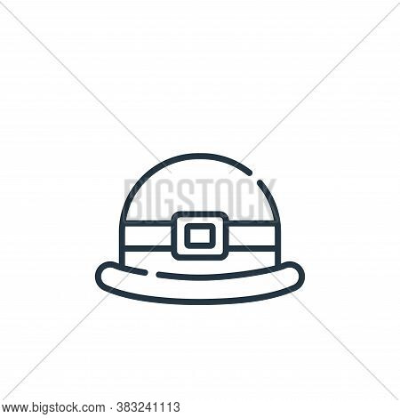 hat icon isolated on white background from ireland collection. hat icon trendy and modern hat symbol