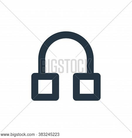 earphone icon isolated on white background from px devices collection. earphone icon trendy and mode