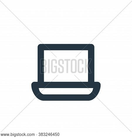 laptop icon isolated on white background from px devices collection. laptop icon trendy and modern l