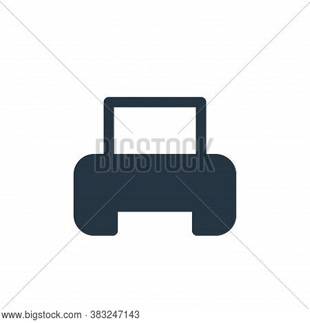 printer icon isolated on white background from printer and fax collection. printer icon trendy and m