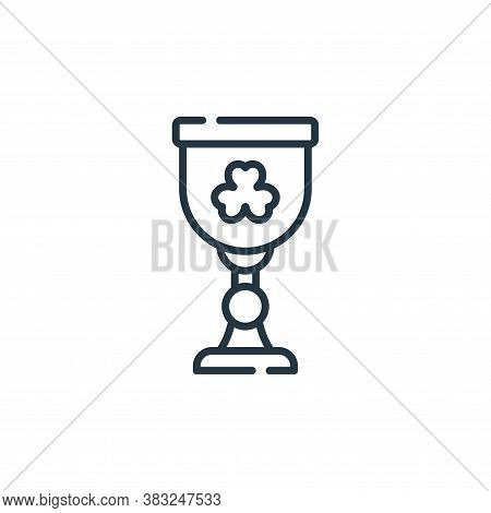 holy grail icon isolated on white background from ireland collection. holy grail icon trendy and mod