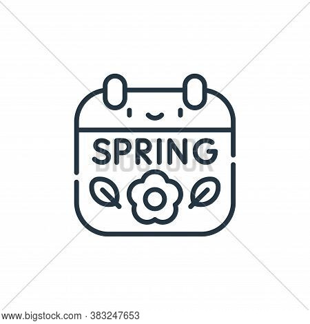spring icon isolated on white background from spring collection. spring icon trendy and modern sprin