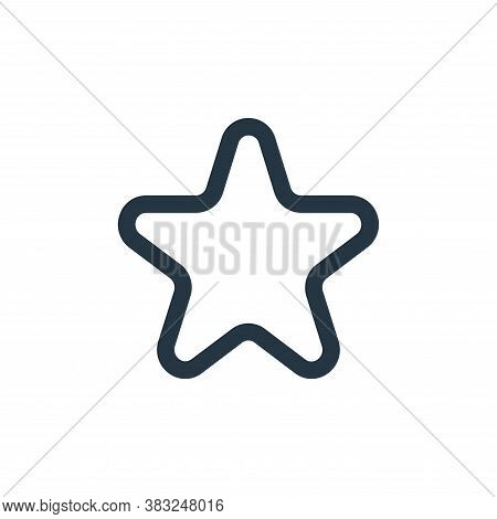 favorite icon isolated on white background from user interface collection. favorite icon trendy and