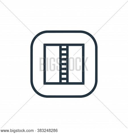zip file icon isolated on white background from files and folders collection. zip file icon trendy a