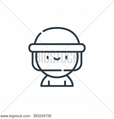beekeeper icon isolated on white background from spring collection. beekeeper icon trendy and modern