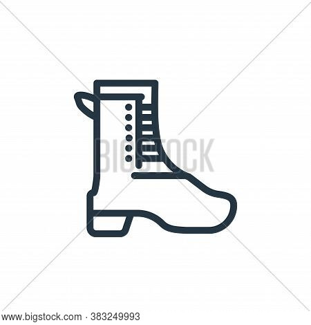shoe icon isolated on white background from spring collection. shoe icon trendy and modern shoe symb