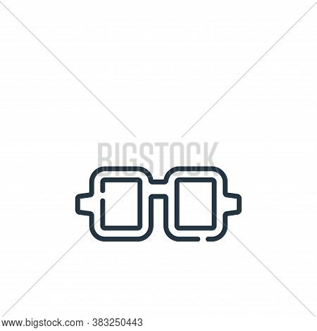 sunglasses icon isolated on white background from spring collection. sunglasses icon trendy and mode