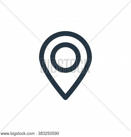 location icon isolated on white background from holiday collection. location icon trendy and modern