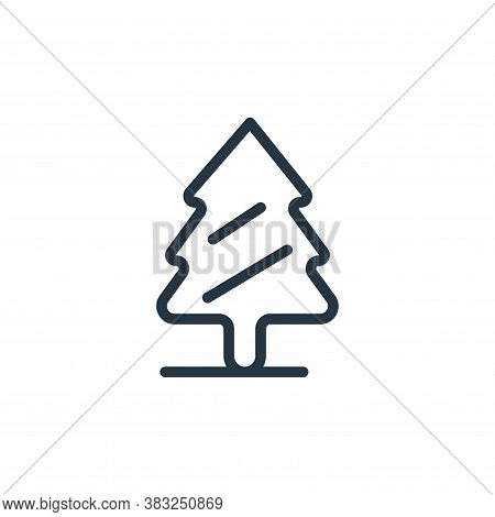 pine icon isolated on white background from spring collection. pine icon trendy and modern pine symb