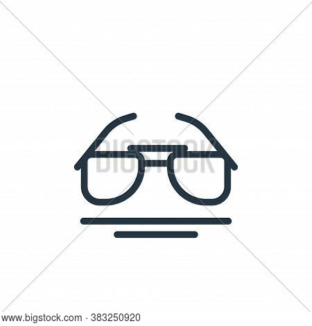 eyeglasses icon isolated on white background from spring collection. eyeglasses icon trendy and mode