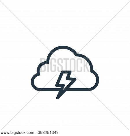 cloud computing icon isolated on white background from spring collection. cloud computing icon trend