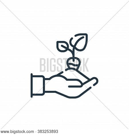seeding icon isolated on white background from spring collection. seeding icon trendy and modern see