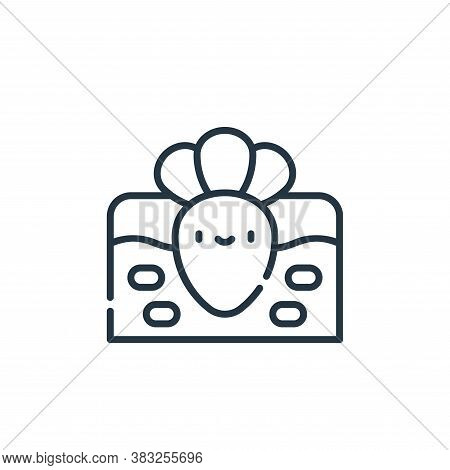 carrot icon isolated on white background from spring collection. carrot icon trendy and modern carro