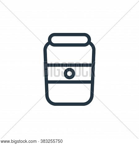 jar icon isolated on white background from food and drinks collection. jar icon trendy and modern ja