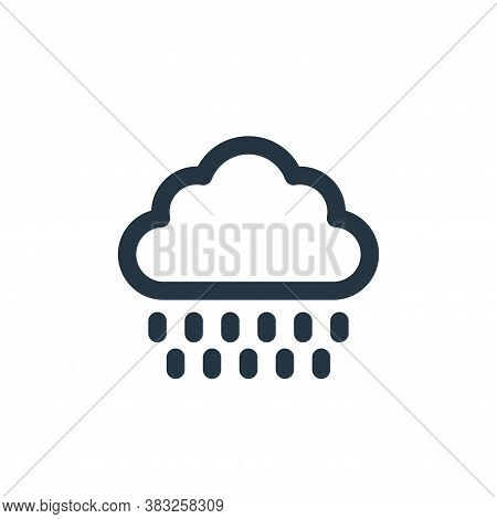 rainy icon isolated on white background from holiday collection. rainy icon trendy and modern rainy