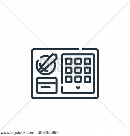 inventory icon isolated on white background from esports collection. inventory icon trendy and moder