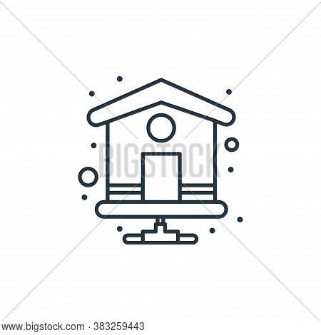 homepage icon isolated on white background from web hosting collection. homepage icon trendy and mod