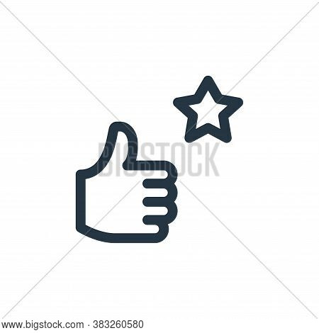 positive icon isolated on white background from voting elections collection. positive icon trendy an