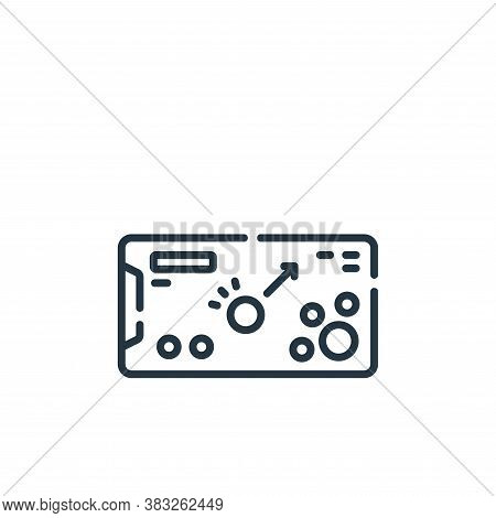 pool icon isolated on white background from esports collection. pool icon trendy and modern pool sym