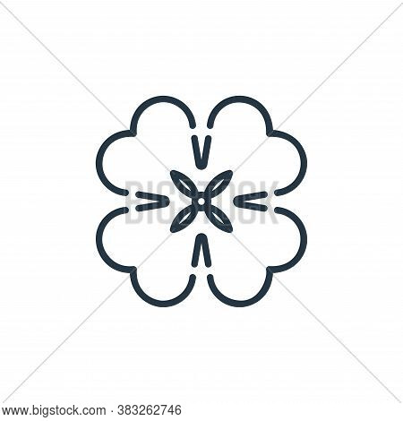 shamrock icon isolated on white background from st patrick day collection. shamrock icon trendy and