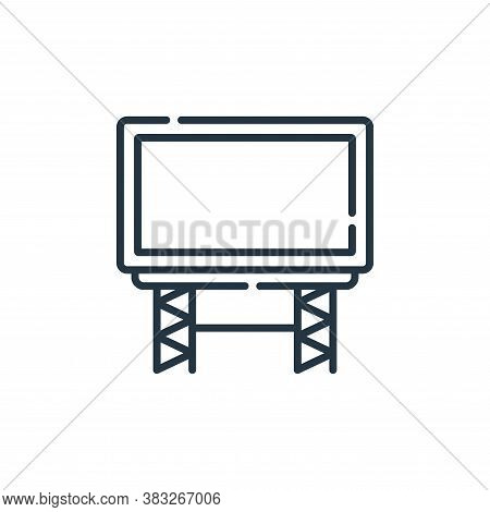 big screen icon isolated on white background from event collection. big screen icon trendy and moder