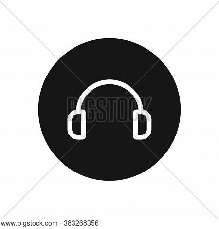 Headphones Icon Isolated On White Background. Headphones Icon In Trendy Design Style For Web Site An