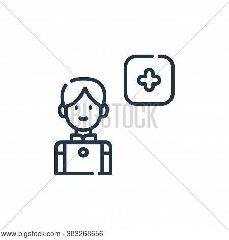 add friend icon isolated on white background from friendship collection. add friend icon trendy and