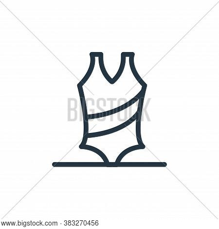 swimsuit icon isolated on white background from water park collection. swimsuit icon trendy and mode