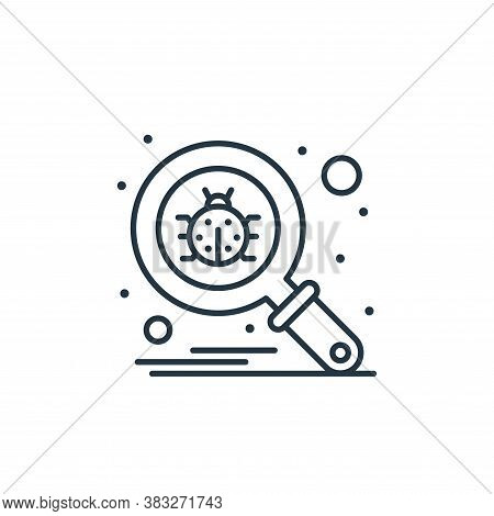 antivirus icon isolated on white background from web hosting collection. antivirus icon trendy and m