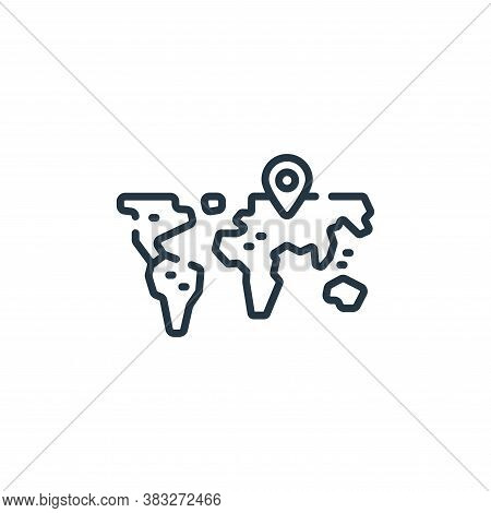 world icon isolated on white background from esports collection. world icon trendy and modern world