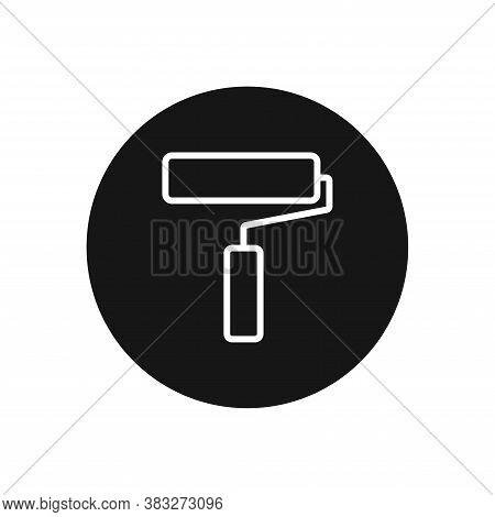 Paint Roller Icon Isolated On White Background. Paint Roller Icon In Trendy Design Style For Web Sit