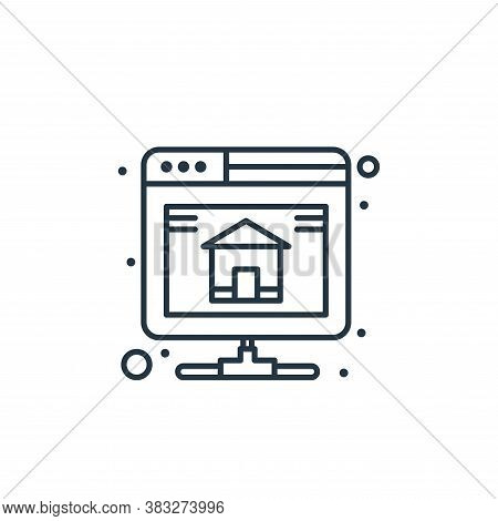 backup icon isolated on white background from web hosting collection. backup icon trendy and modern