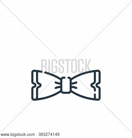 bow tie icon isolated on white background from event collection. bow tie icon trendy and modern bow