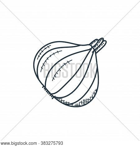 garlic icon isolated on white background from food collection. garlic icon trendy and modern garlic