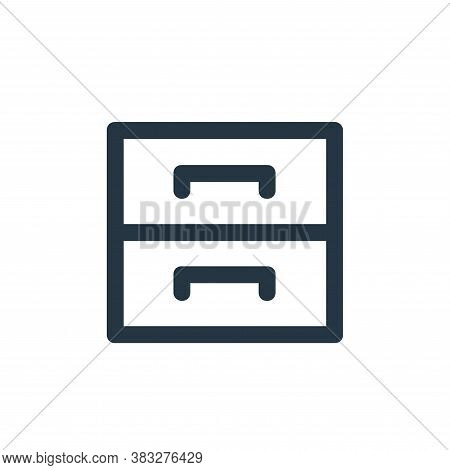 cabinets icon isolated on white background from business and management collection. cabinets icon tr
