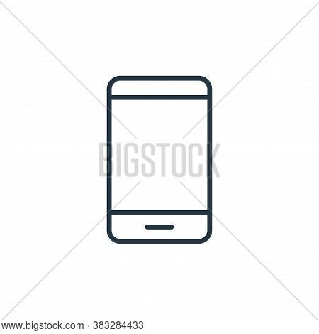 phone icon isolated on white background from communication collection. phone icon trendy and modern