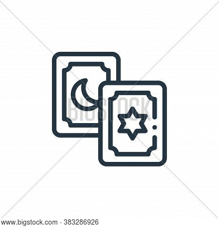 magic cards icon isolated on white background from magic collection. magic cards icon trendy and mod