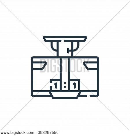 Broadcast icon isolated on white background from esports collection. Broadcast icon trendy and moder