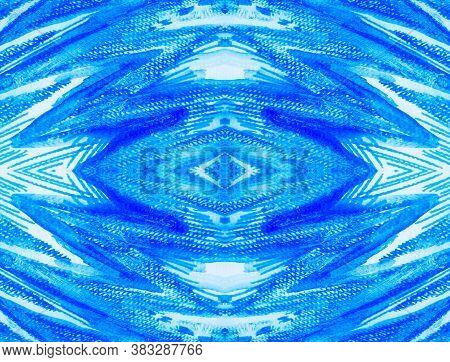 Indigo Stripe. Turquoise Patterns Animal Print. Indigo Stripe. Animal Stripes Seamless. T-shirt Prin