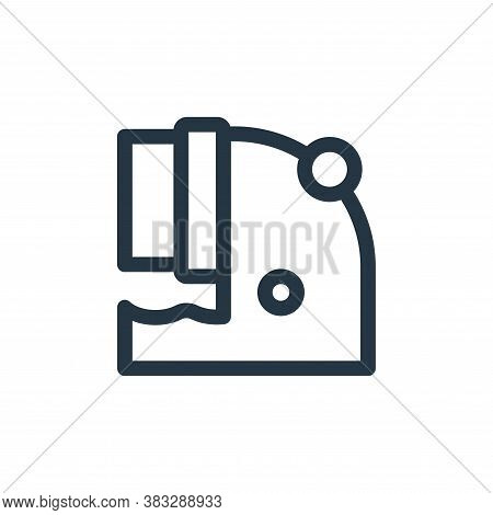 contamination icon isolated on white background from nuclear energy collection. contamination icon t
