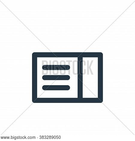 coupon icon isolated on white background from sign symbol collection. coupon icon trendy and modern