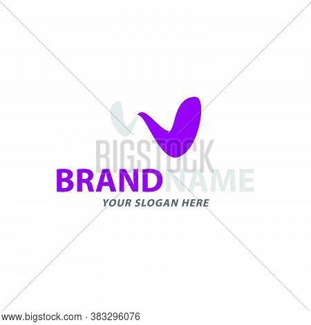Creative Curvy Letter W Logo Design Vector