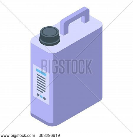 Disinfector Canister Icon. Isometric Of Disinfector Canister Vector Icon For Web Design Isolated On