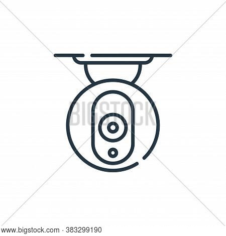 cctv icon isolated on white background from smarthome collection. cctv icon trendy and modern cctv s