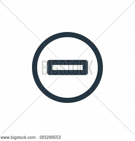 stop icon isolated on white background from sign symbol collection. stop icon trendy and modern stop